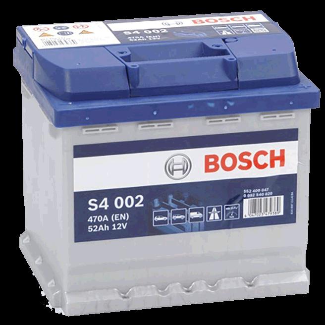 batterie voiture 50ah 470A 12V Bosch